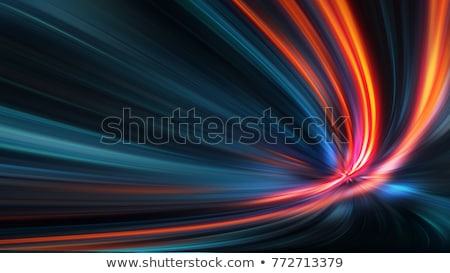 abstract acceleration speed motion on night road Stock photo © Iscatel