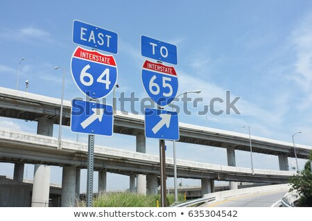 Stock photo: Kentucky Highway Sign