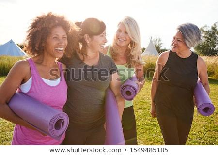 middle age woman Stock photo © poco_bw