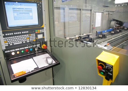 lathe control cabin Stock photo © Paha_L