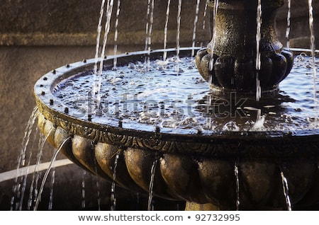 Water fountain in old park. Stock photo © Fisher