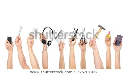 hand holding a hammer stock photo © leeser