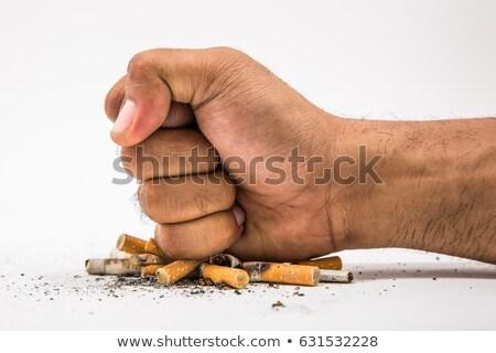 Help stop smoking Stock photo © Komar