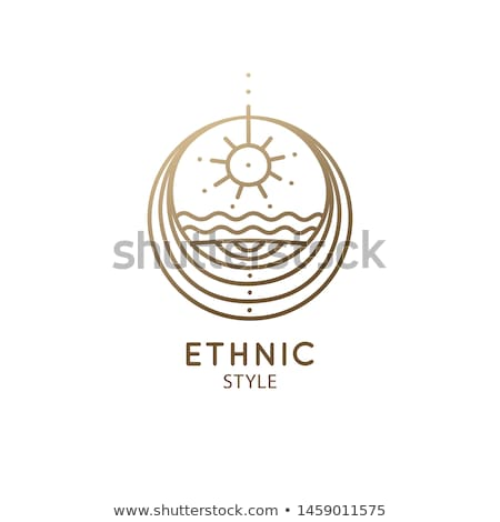 plemiennych · równowagi · piękna · Afryki · moda - zdjęcia stock © phakimata