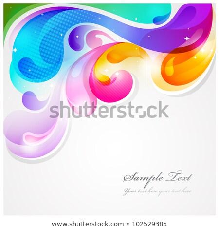 Abstract Blauw kleur ontwerp patroon luxe Stockfoto © antkevyv