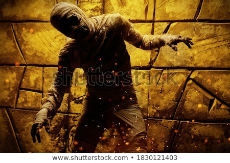 Scary Mummy Stock photo © indiwarm