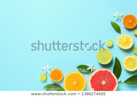 The Frame is made from a Mixed citrus fruit Stock photo © vlad_star