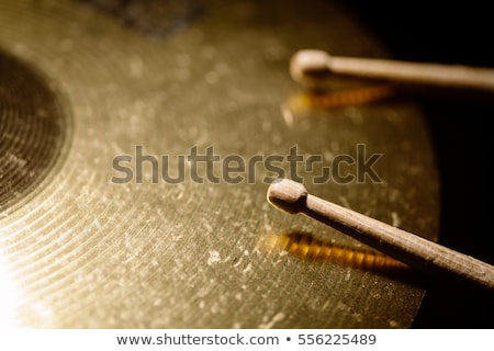 Cymbal and drumstick Stock photo © sumners