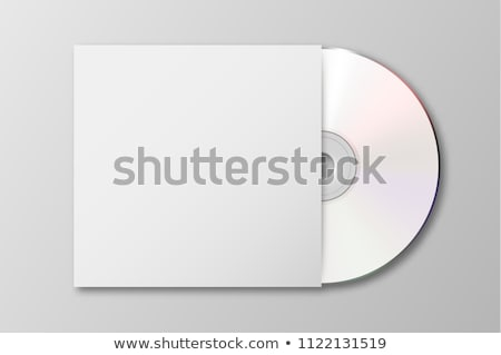 CD box with disks template Stock photo © fixer00