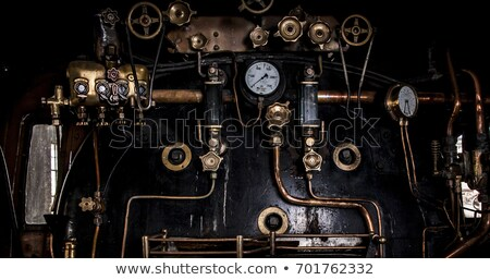 Locomotive Steam Engine Boiler Stock photo © bobkeenan