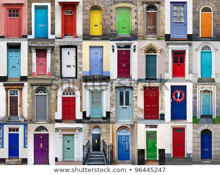 colorful front door Stock photo © Witthaya