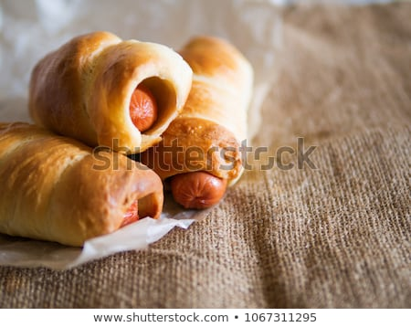 sausage and bread stock photo © franky242