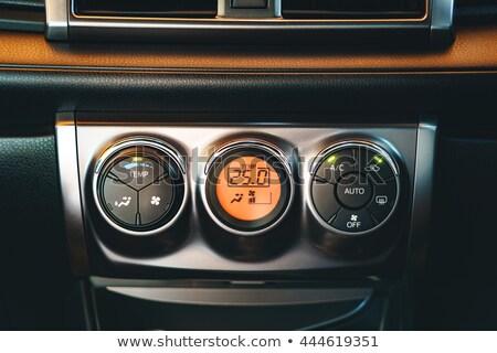 vektör · araba · hızölçer · benzin · dizayn · siyah - stok fotoğraf © experimental
