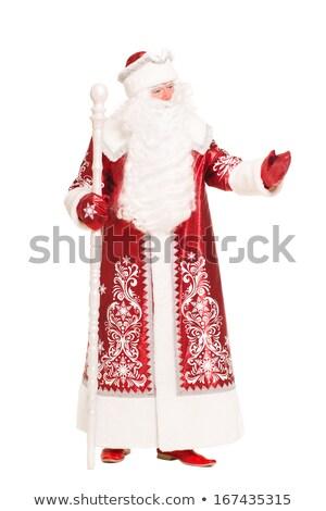 Russian Christmas characters. Isolated Stock photo © acidgrey