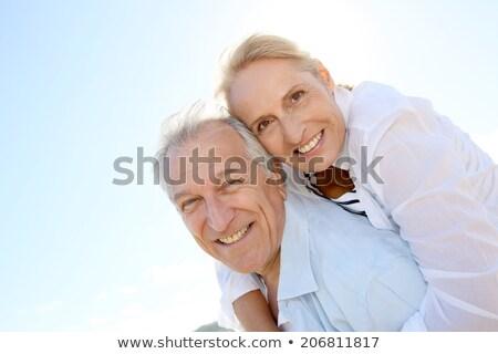 человека жена комбинированный женщину семьи улыбка Сток-фото © wavebreak_media