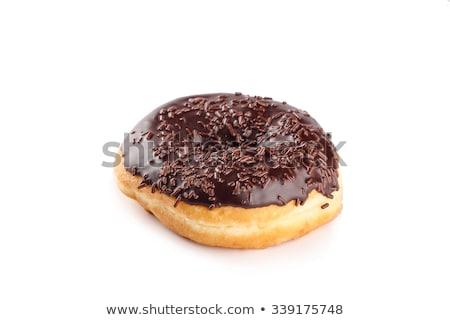 traditioneel · donuts · koffie · vers · zoete · suiker - stockfoto © m-studio