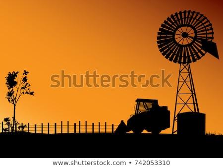 Outback Farm stock photo © iTobi