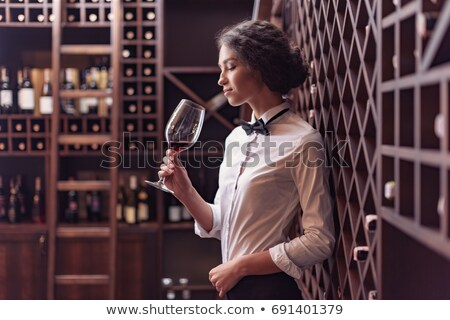 woman sommelier Stock photo © jarp17