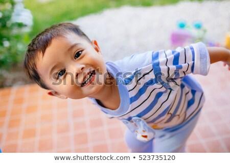 портрет глядя ребенка Сток-фото © ElinaManninen