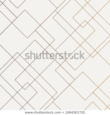 Model kareler mor doku sanat kumaş Stok fotoğraf © obradart
