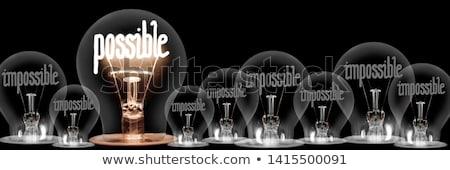 Possible. Business Background. Stock photo © tashatuvango