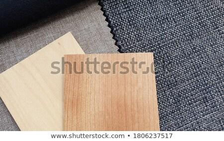 branco · sofá · preto · prata · papel · de · parede · design · de · interiores - foto stock © anterovium