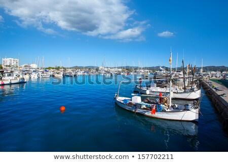 Marina liman İspanya plaj yaz Stok fotoğraf © lunamarina
