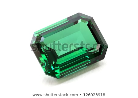 Emerald gems Stock photo © dengess