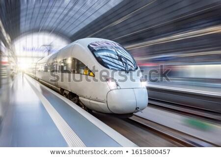 stazione · ferroviaria · persone · business · lavoro - foto d'archivio © meinzahn