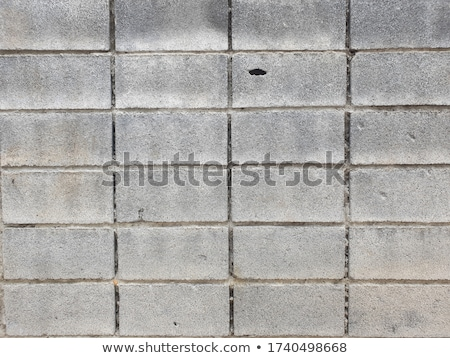 Trottoir patroon beton blokken Blauw kleur Stockfoto © meinzahn