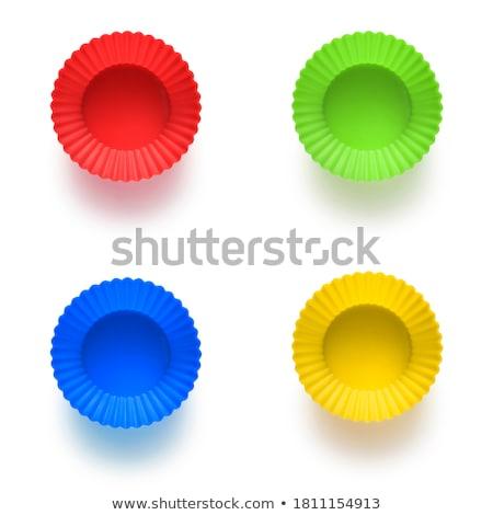 Silicone regenboog gekleurd rij Stockfoto © zhekos
