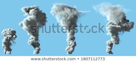 Smoking Volcano Stock photo © blamb
