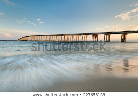 Köprü Oregon dış bankalar Kuzey Carolina plaj Stok fotoğraf © alex_grichenko