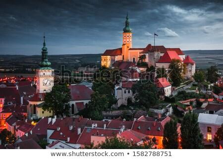 Mikulov city view Stock photo © Dermot68