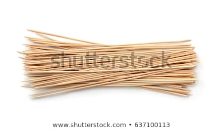 Disposable Bamboo Skewers Stock photo © dezign56