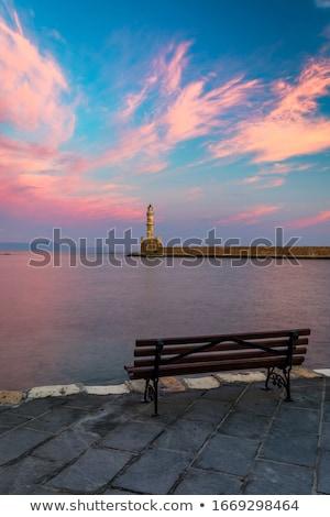 灯台 · 風景 · ギリシャ · 水 · 海 · セキュリティ - ストックフォト © igabriela