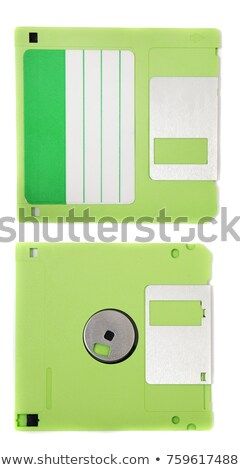 front view of obsolete floppy disk Stock photo © caimacanul