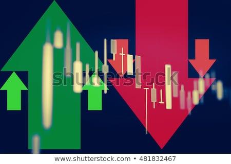 energia · felfelé · lefelé · szavak · renderelt · 3D - stock fotó © ottawaweb