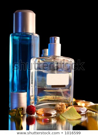 üveg · izolált · nő · szépség · női · hölgy - stock fotó © ozaiachin