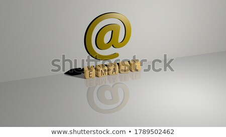 Spam word made by colorful letters Stock photo © fuzzbones0