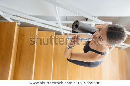 девушки лестница девочек Сток-фото © jeancliclac