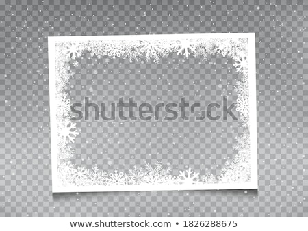 photos frames on christmas background stock photo © valeriy