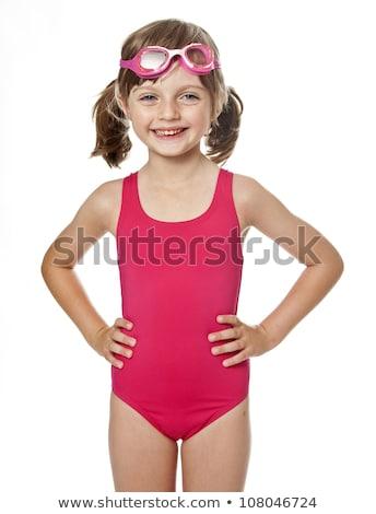 meisje · water · meisje · man · zon · kind - stockfoto © paha_l