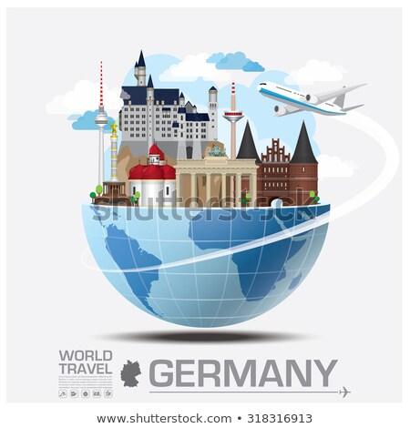 Elementos Alemanha informação europa Foto stock © artisticco