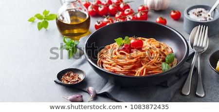 maccheroni · pasta · pronto · cottura · texture · alimentare - foto d'archivio © art9858