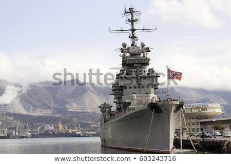 Ruso mar arma barco buque retro Foto stock © vapi