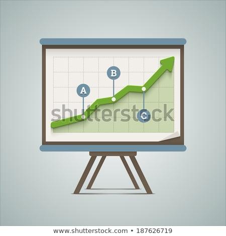 Conselho gráfico escolas espaço secretária estudar Foto stock © shutswis