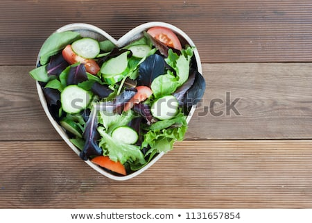 Veggie heart. Stock photo © Fisher