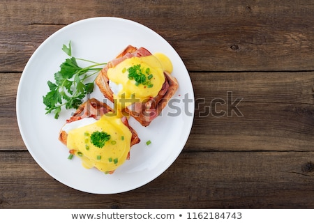 frescos · baguettes · mantequilla · cesta · mesa · desayuno - foto stock © digifoodstock