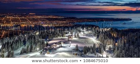 мнение Ванкувер горные глядя Сток-фото © stockfrank